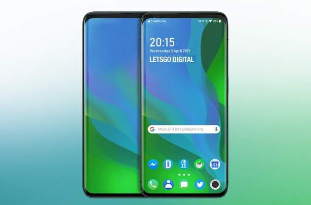 Oppo side screen