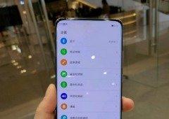 OPPO: smartphone com câmara no ecrã visto em imagens reais