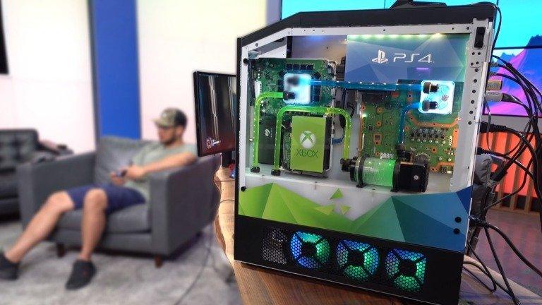 Origin PC Big O é o sonho de qualquer gamer! Junta PC, Xbox One, PS4 e Switch numa só torre