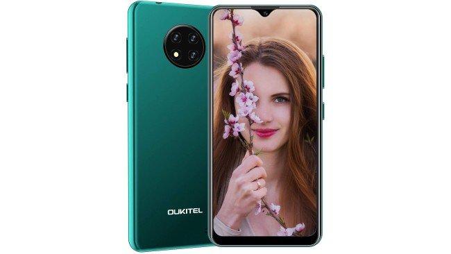 telemóvel Oukitel C19 em verde