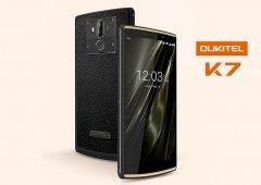 Android. Oukitel K7 oferece-nos uma super bateria de 10.000 mAh