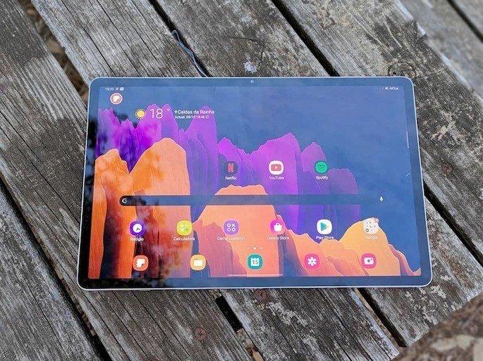 Samsung Galaxy Tab S7 Plus lançado em 2020. Vê a nossa análise