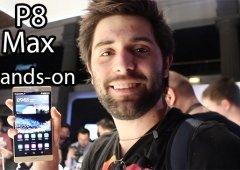 Huawei P8 Max hands-on - O GIGANTE com construção exemplar