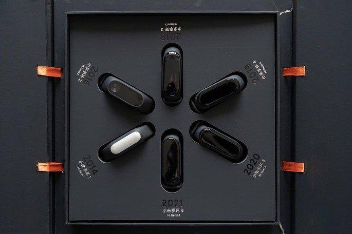 Edição de colecionador da Xiaomi Mi Band 6. Via: Xiaomi Adictos