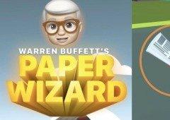 Apple lança o seu jogo Warren Buffett's Paper Wizard