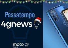 Passatempo Natal 4gnews: ganha um Motorola Moto G9 Plus