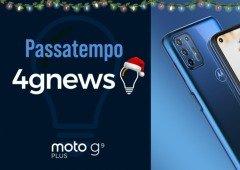 Passatempo Natal 4gnews: eis o vencedor(a) do Motorola Moto G9 Plus