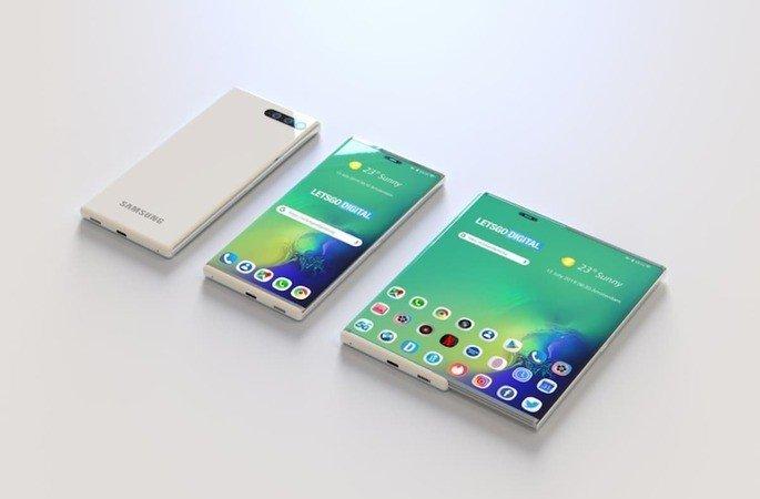 Samsung patente smartphone futuro