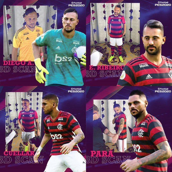 PES 2020 Flamengo