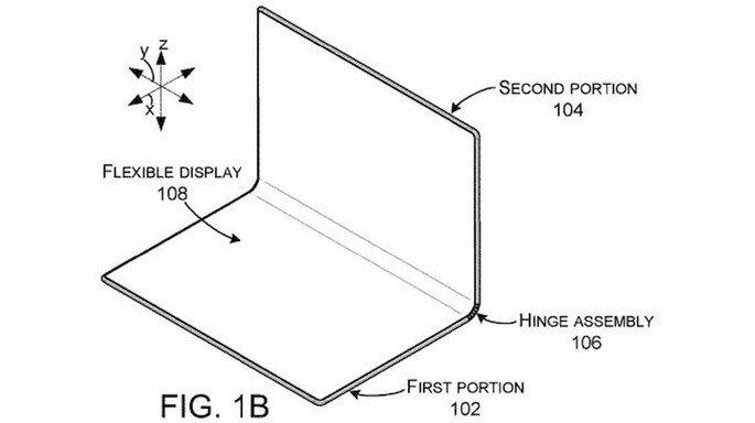 microsoft surface patente