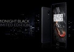 "OnePlus 3T ""Midnight Black"" estará disponível para o resto da Europa"