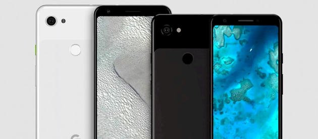 google pixel 3a xl conceito