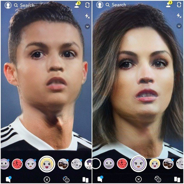 Snapchat Ronaldo 4gnews
