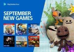 Playstation Now: conhece os 10 novos jogos disponíveis em setembro