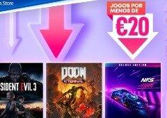 """PlayStation Store renova a campanha """"Jogos por menos de 20 €"""". Eis a lista!"""