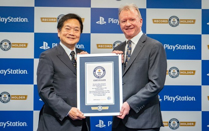 Sony PlayStation Recorde do Guinness