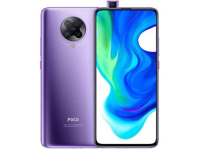 Pocophone F2 Pro da Xiaomi em púrpura