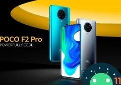 POCO F2 Pro começa a receber o Android 11 com a MIUI 12