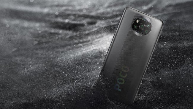 POCO X3 NFC em cinza