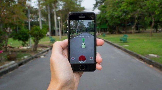 Pokémon Go realidade Aumentada