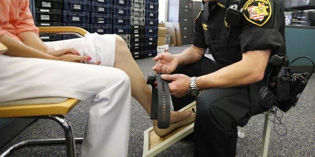 Monitor de tornozelo