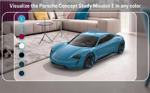 Aplicação Porsche