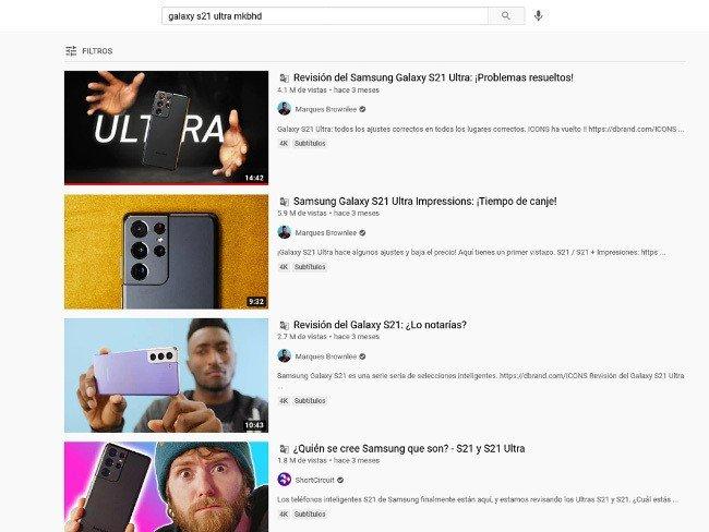 YouTube versão web