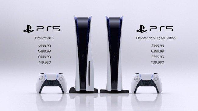 Preços PlayStation 5