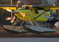 Primeiro avião comercial eléctrico completa voo com sucesso