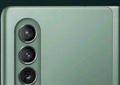 Samsung com câmara debaixo do ecrã mais perto. Design pode ser este