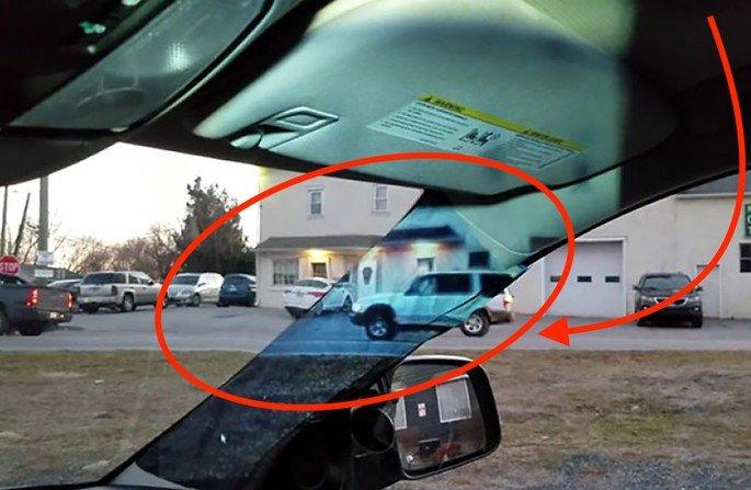 Parabrisas problema dos carros