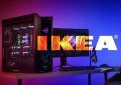 Produtos gaming IKEA com a colaboração da Asus ROG chegam amanhã