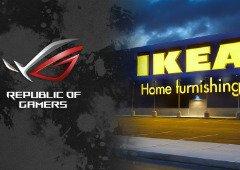 Produtos gaming IKEA com selo Asus ROG já têm previsão de chegada a Portugal!