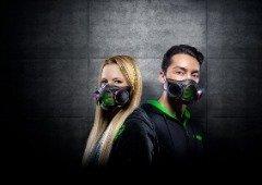 Protege-te da Covid-19 com a nova máscara inteligente Razer com iluminação RGB (vídeo)