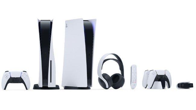 Acessórios oficiais PlayStation 5