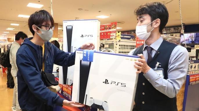 Vendas da PS5 no Japão