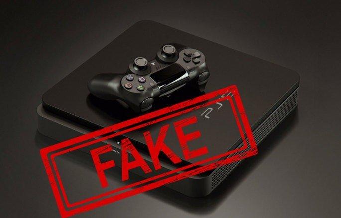 Playstation 5 vídeo falso