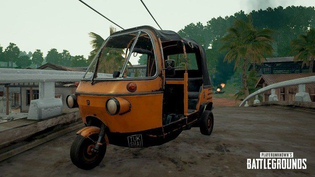 Tuk Tuk no PUBG Mobile