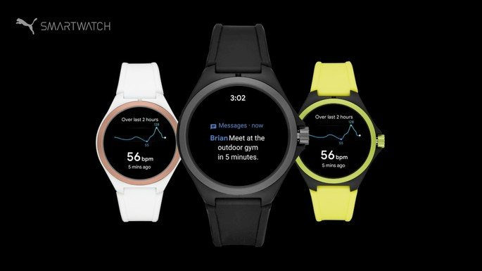 Puma Fossil Smartwatch