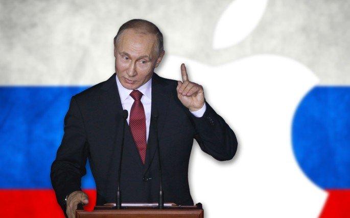 Apple Rússia Vladimir Putin