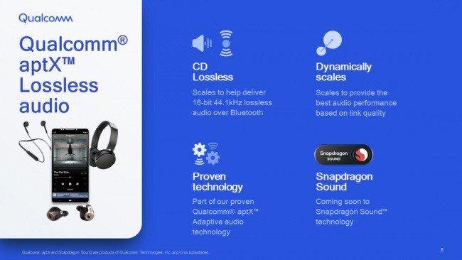 Qualcomm Snapdragon Sound aptX Lossless