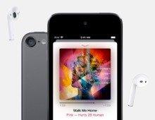 Quatro anos depois, a Apple lançou um novo iPod Touch