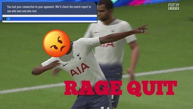 FIFA 19 Ultimate Team Rage Quit
