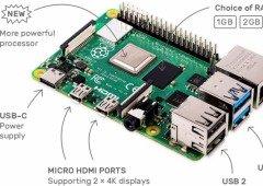 Raspberry Pi 4 traz suporte para vídeo 4K e melhorias de ligação