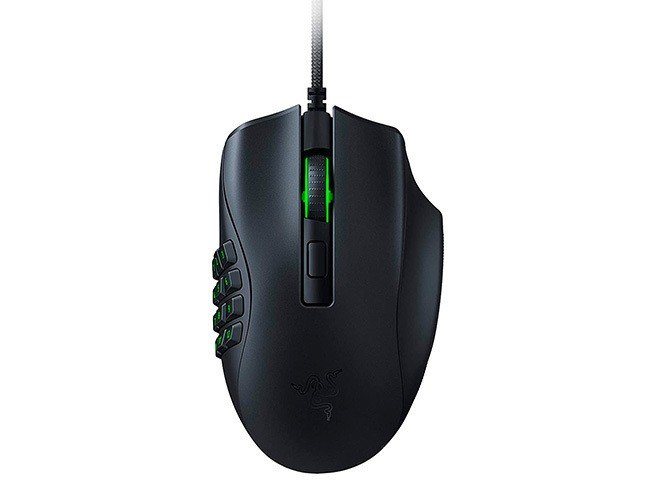 Rato Óptico Razer Naga X MMO Gaming RGB 18000DPI Preto