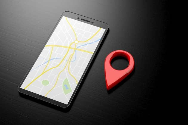 localização app smartphone