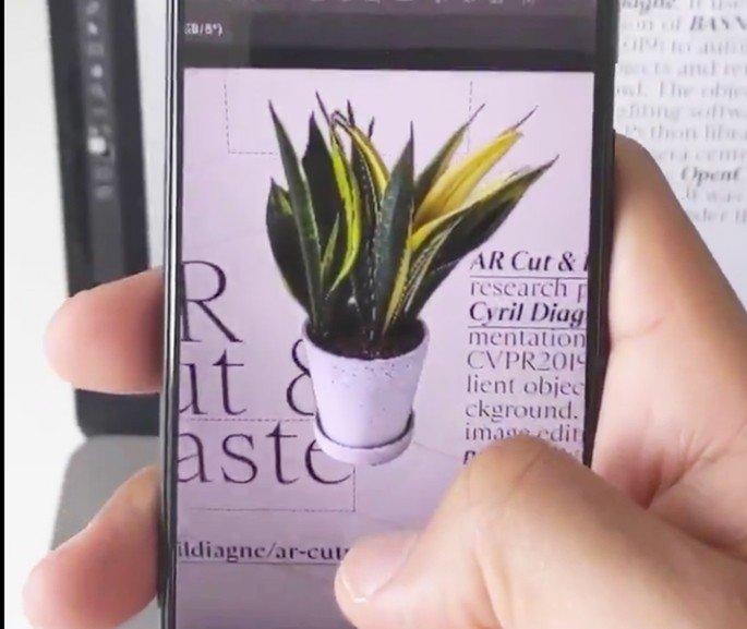 Realidade aumentada smartphone