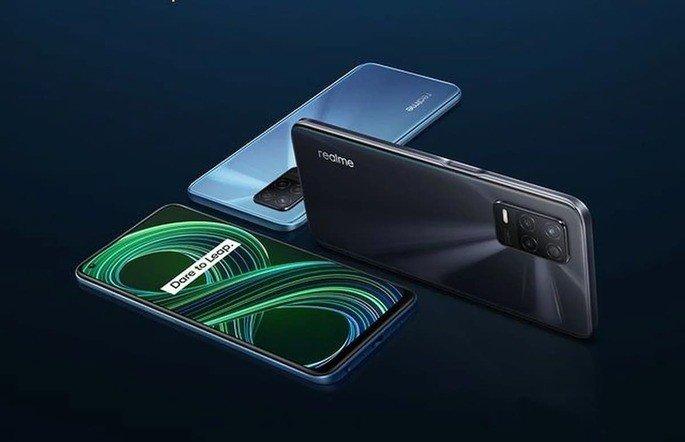 Imagem oficial do Realme 8 5G