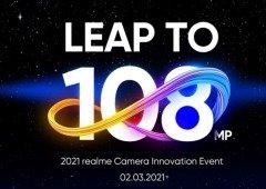 Realme 8: sensor de 108MP será revelado em detalhe antes da apresentação