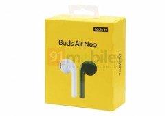 Realme Buds Air Neo; conhece o design e detalhes dos concorrentes aos AirPods